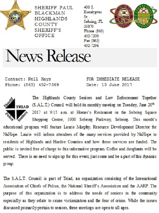 625 SALT Press Release June 2017